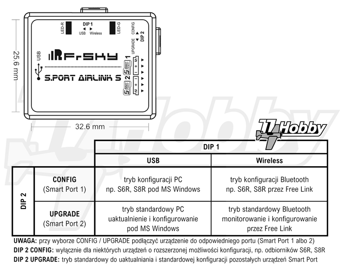 FrSky AirLink S Schematic