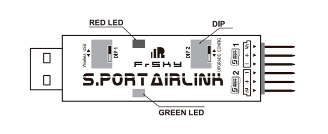 FrSky AirLink Schematic